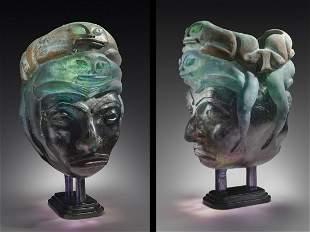 Seth Randal Miss Inca Jewed 1996 Art Glass Habatat
