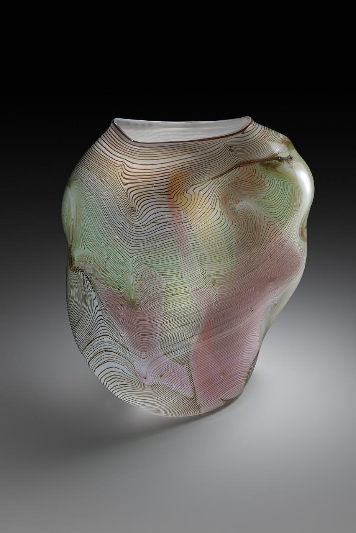 William Morris Untitled Blown Vessel Art Glass Habatat