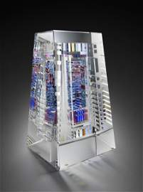 Jon Kuhn Olydian Mix 1990 Art Glass Habatat