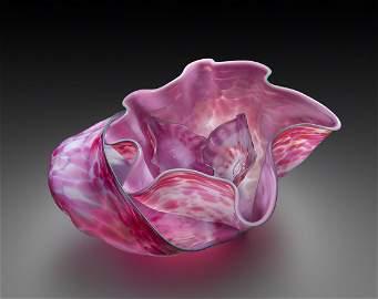 Dale Chihuly Macchia Series 4 piece Art Glass Habatat