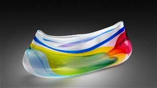 Leon Applebaum Blown Glass Sculpture Art Habatat