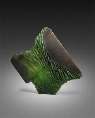Alex Bernstein Steel Growth Art Glass Habatat