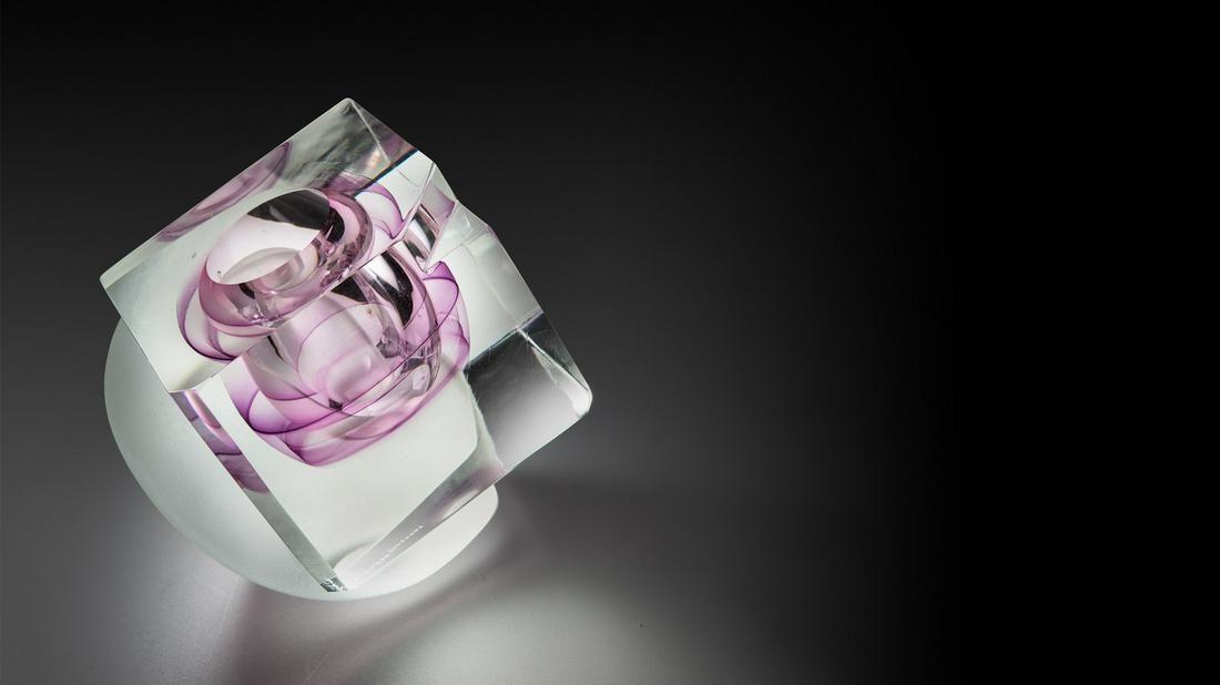 Kreg Kallenberger Interlock Series Art Glass Habatat