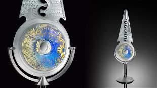 Eric Hilton Earth Circle Art Glass Habatat