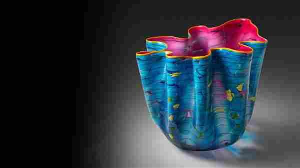 Dale Chihuly Dakota Macchia Edition Art Glass Habatat
