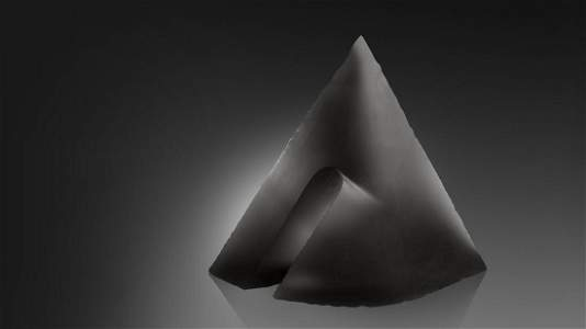 Libensky Brychtova Penetration Cone Art Glass Habatat