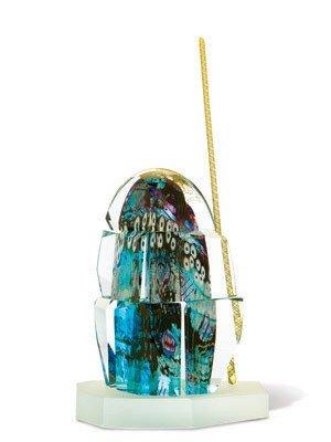 "1: Kenny Carder - ""Argus""  1984 Glass Art"
