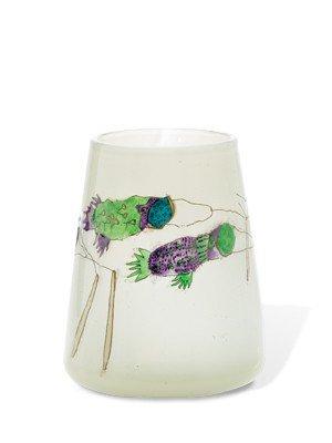 """2: Mace & Kirkpatrick - """"Kite Series"""" 1980 Glass Art"""