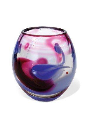 "4: Herb Babcock ""Vase #5367"" 1982 Glass Art"