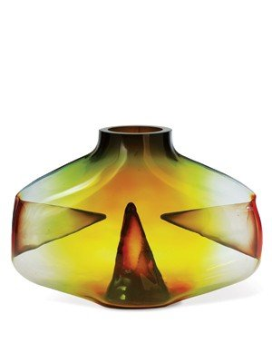 "15: Pavel Hlava - ""Harmony III"" 1965 Glass Art"