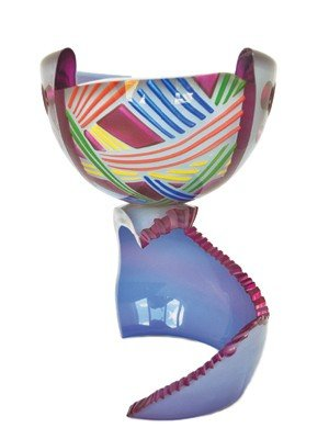 "22: Consetta Mason ""Tidal Wave SE 2904"" '88 Glass Art"