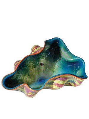 """33: Dale Chihuly - """"4 - 83 - 2"""" 1983 Glass Art"""