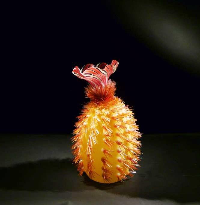 "9: Flo Perkins ""Cactus with Venetian Flower"""