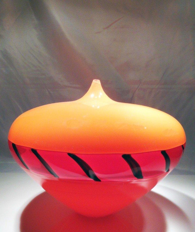 """3: Lino Tagliapietra """"early Hopi Vase"""""""