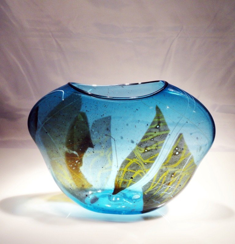 "4: William Morris ""Petite Artifact Shard Vessel"""