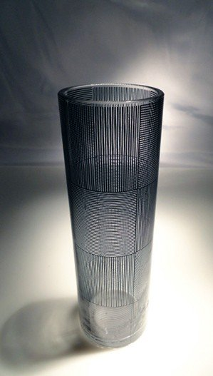 """20: Sydney Cash """"Glass Tumbler, created for the Museum"""