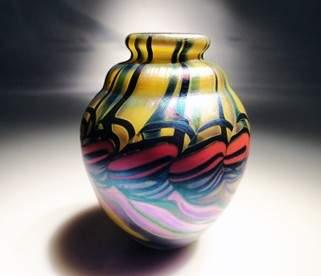 """50: James Lundberg """"Miniature Vase"""""""
