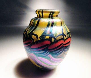 "50: James Lundberg ""Miniature Vase"""