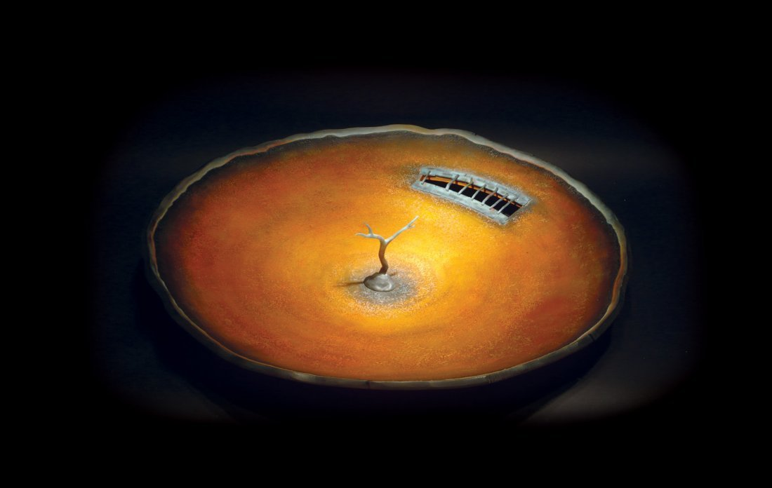 """6: Jay Musler """"Landscape bowl with tree"""""""