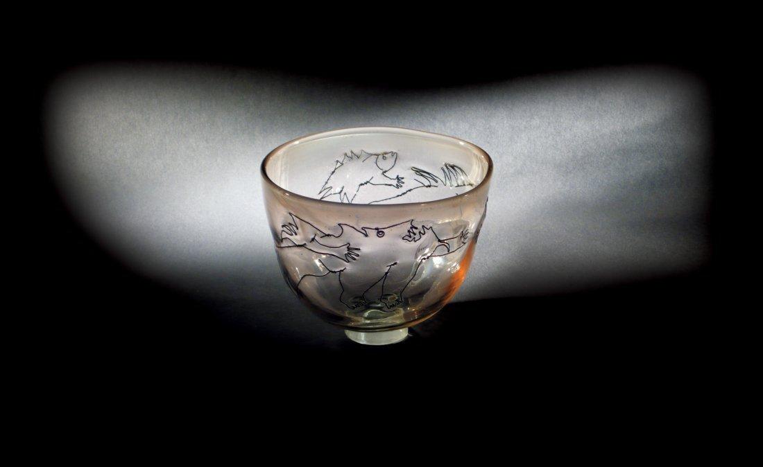 "11: Flora Mace/ Joey Kirkpatrick ""Untitled bowl with wi"