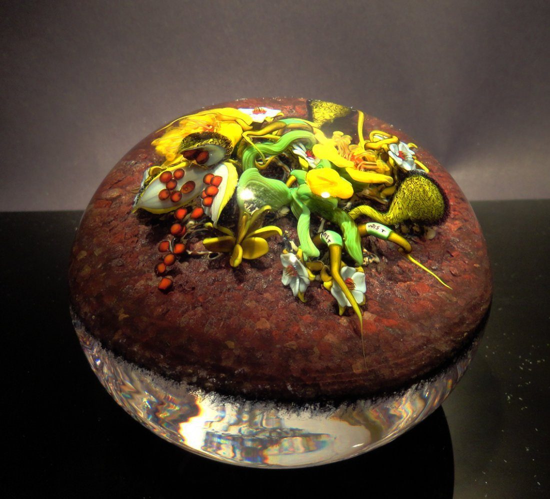 6: Paul Stankard 'Untitled' flowers