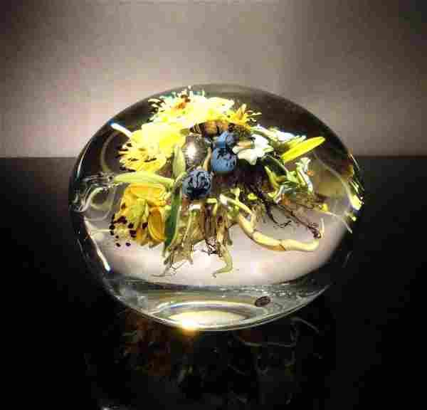 Paul Stankard 'Untitled' flower bundle