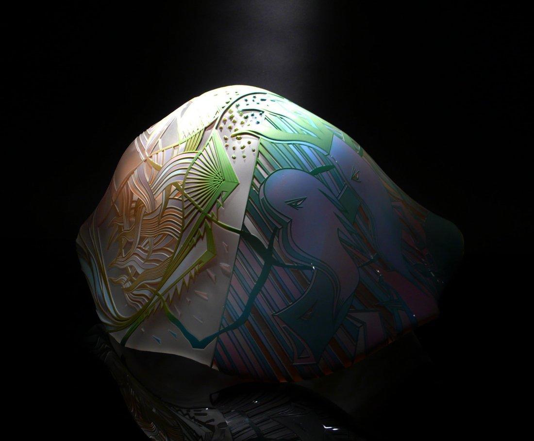 11: Steven Hodder, art glass