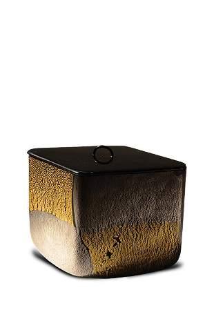 Kyohei Fujita Untitled Box with Lid Glass Art