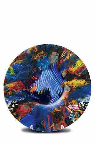 Klaus Moje, 2-1989 #37, 1989 Glass Art