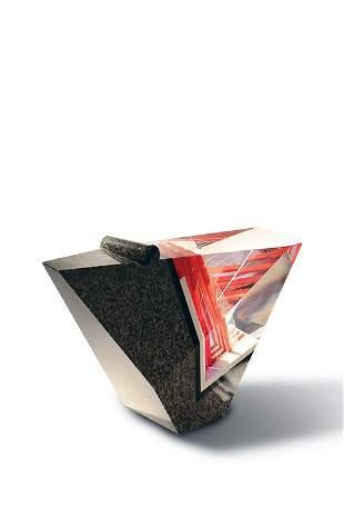 William Carlson, Untitled w/ Stopper Glass Art