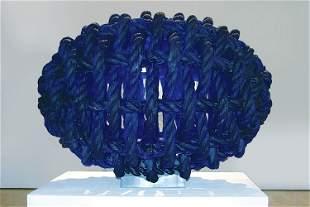 Ivan Mares, Egg, 2007, Cast Glass Art Sculpture