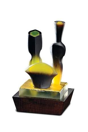 José Chardiet, Still Life, Circa 1987 Glass Art
