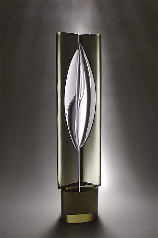 Livio Seguso, #29, 1990 Glass Art Sculpture