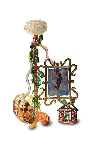 Ginny Ruffner, Obsessions, 1996 Glass Art