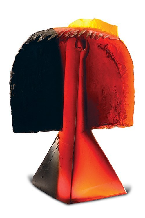 Libensky & Brychtova, Hair, 1996 Cast Glass Art