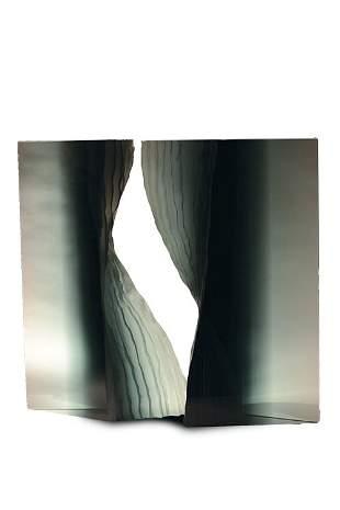 Maria Lugossy, Double Form, 2005 Glass Art