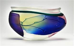 Habatat Leon Applebaum Lava, 1998 Glass Fine Art