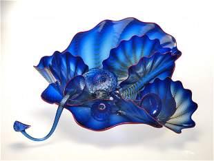 Habatat Chihuly 10 Piece Seaform Series Glass Art