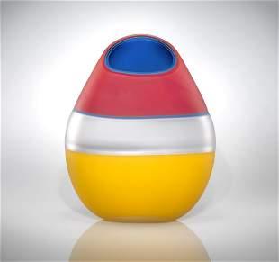 Habatat - Jamie Harris Heated Orb, 2001 Glass Art