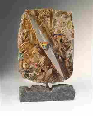 Habatat Bertil Vallien EntranceMap 1985 Glass Art
