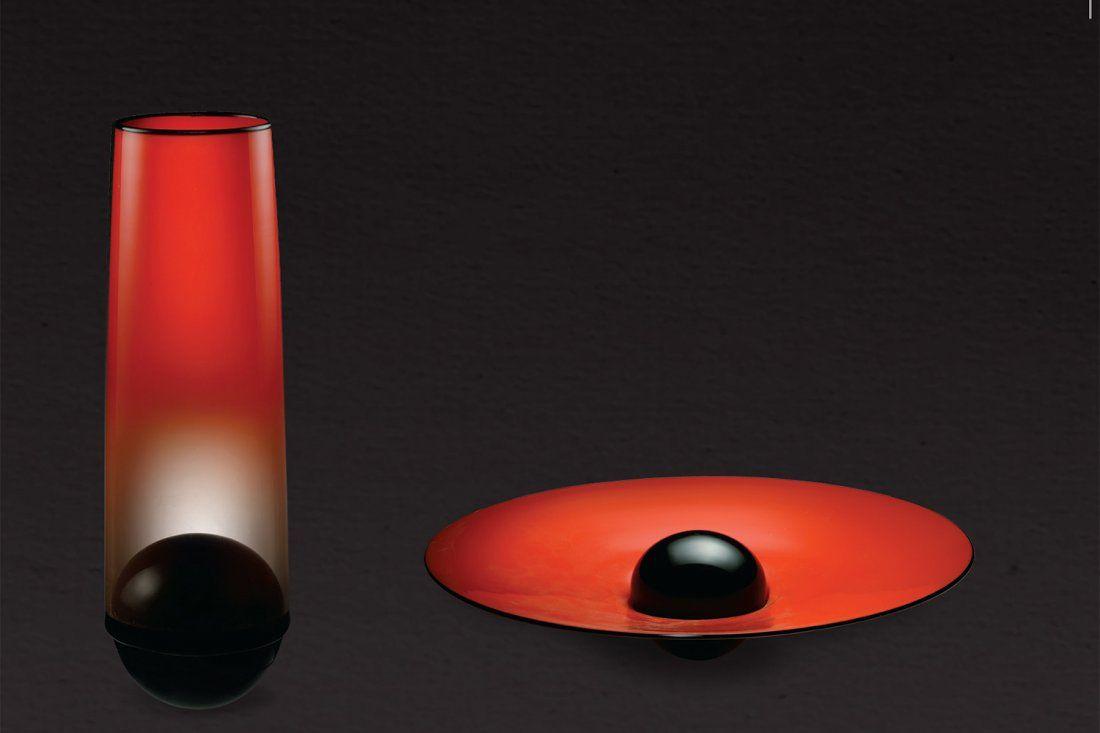 Habatat Benjamin Moore Pala Set 1997 Glass Art
