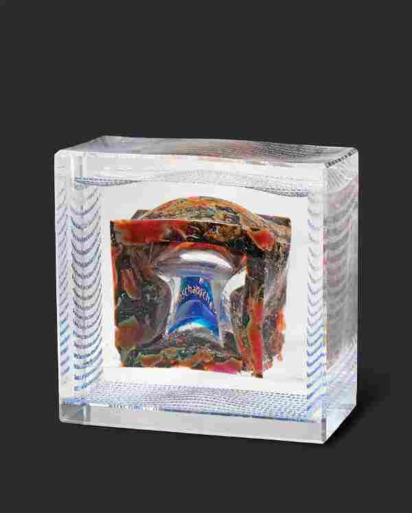Habatat Antoine Leperlier Chaos VII 2003 Glass