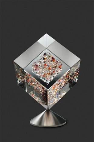 Habatat Jon Kuhn Golden Sun 2014 Glass Art