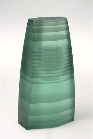Habatat Zoltan Bohus Footed Glass Circa 2000 Art