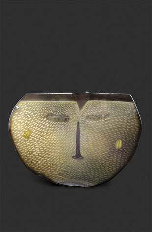 Habatat Jay Musler The Face 1982 Glass Art Show