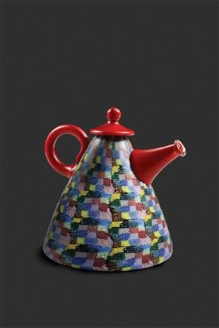 Habatat Richard Marquis Large Red Teapot 2000 Art