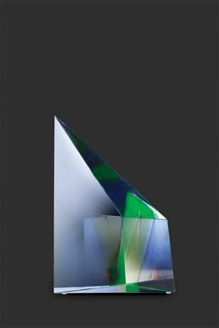 Habatat Mark Peiser Prism Series 1985 Glass Art