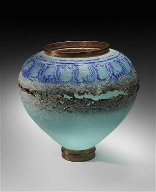 Deanna Clayton Copper Vessel Glass Art Habatat