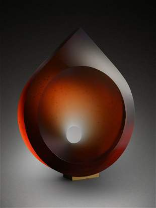 Petr Hora PAVO 2004 Glass Art Habatat