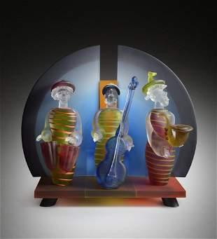 STANI Borowski Stages 2004 Glass Art Habatat